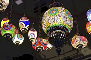 Beautiful Hanging Lanterns